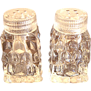 Fostoria American Individual Salt & Pepper Shakers
