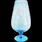Very tall Italian Art Glass Snifter