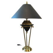 Chapman Neo-Classical Torch Flame Lamp