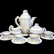 Copeland Spode Ermine Tea Coffee Set