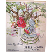 Uncut Little Women Paper Dolls