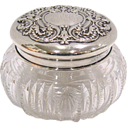 Dominick & Haff Sterling Powder Jar