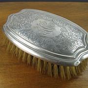 Sterling Silver Gentleman's Hair Brush