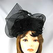 Exquisite Vintage Edwardian Style Hat
