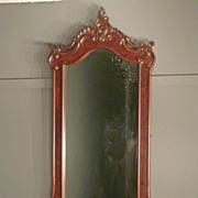 SOLD Victorian Hall Mirror