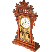Victorian Shelf Clock by Welch