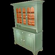 Painted Pennsylvania Dutch Cupboard