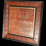 SOLD Victorian Triptych Mirror