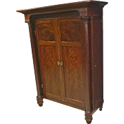 Empire Mahogany Armoire, Wardrobe