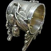 Victorian Silver Plate Napkin Ring, Josie