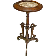 Small Victorian Marble Top Stand