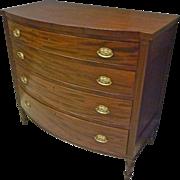 Mahogany Sheraton Chest of Drawers, Dresser