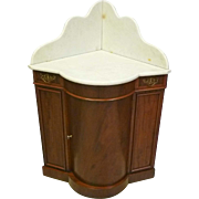 Corner Marble Top Washstand