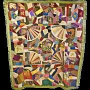 Victorian Crazy Quilt Top