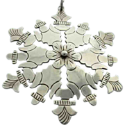 Antique Sterling Hand Made Pendant