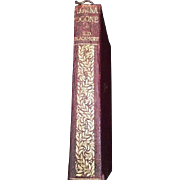 Leather Bound Illustrated Lorna Doone by R.D. Blackmore c. 1910