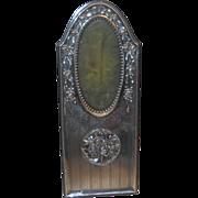 SALE Sterling Antique Photo Frame - Art Nouveau UNUSUAL
