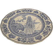 Yale University Wedgwood Plate - Harkness Towe