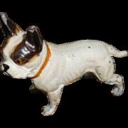 SOLD French Bulldog Vintage Metal figurine