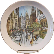 Chicago Collection Plates 1976