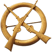 SALE Infantry Sweetheart Pin, Military Memorabilia!