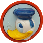 SALE Donald Duck Vintage Working Night Light Walt Disney Productions Fun!