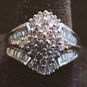 14K Diamond (1.50ct) Cocktail Ring