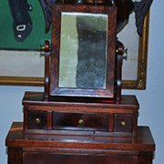 SALE Fine American Miniature New England Dresser, c.1830-40