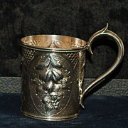 SALE Early Gorham Coin Silver Child's Cup, c.1860