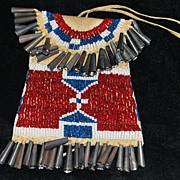 SALE Kiowa Strike-a-Lite Beaded Bag
