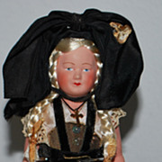 "7"" All Original French Doll"