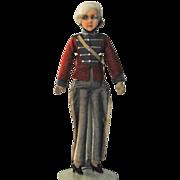 French Military Boudoir Doll- circa 1910's