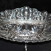 SALE Beautiful Welsch Peruvian 900 Silver Footed Bowl,c.1920