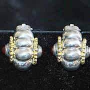 SALE Fine Italian Flli Menegatti Sterling Earrings