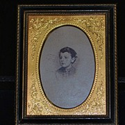 SALE Victorian Gild and Wood Picture Frame,c.1890