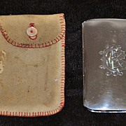 SALE English Edwardian Sterling Silver Coin Purse,c. 1906