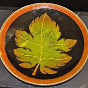 """SALE English Poole Pottery """"Aegean"""" Plate, c. 1975"""