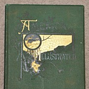 SOLD America Illustrated - 1883 Edition- Book