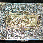 Fine Italian Art Nouveau 800 Silver Box - 1900