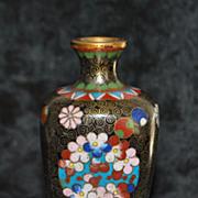 Japanese Meiji Cloisonne  Vase, c. 1880
