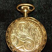 14K Lady's Knickerbocker Lapel Watch, c. 1920