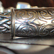 Heavy Sterling Silver Cable I.D. Bracelet