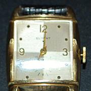 Swiss Curvex 17 Jewel Wrist Watch - 1970's