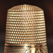 14K  No. 10 Gold Thimble - c.1910
