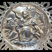 Fancy Austro-Hungarian 800 Silver Bowl, c. 1900