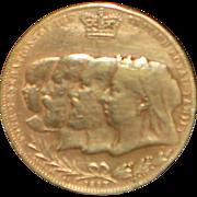 "Queen Victoria ""Four Generations"" Bronze Medal - 1897"