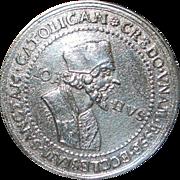 Jan Hus Bohemia Silver Thaler - 1700