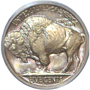 SALE PENDING United States Buffalo Nickel Coin - 1938-D - MS-66 - Slabbed