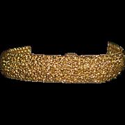 14K Tiffany & Co. Gold Bracelet Wrist Watch - Girard Perregaux -  1970's
