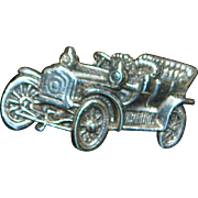 Pair of Sterling Silver Motor Car Cuff Links - 1949